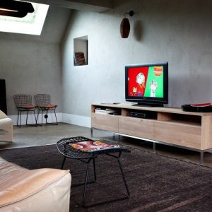 Porta TV Ethnicraft modello Oak Ligna