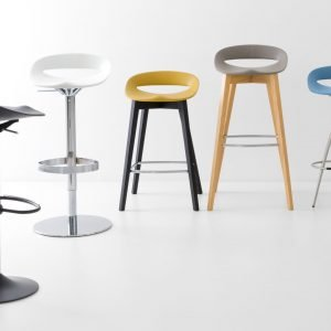 Sgabello Cosmopolitan Connubia by Calligaris